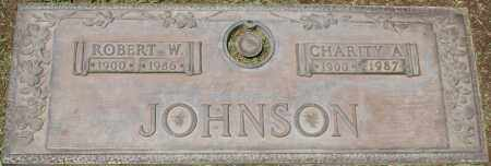 JOHNSON, ROBERT W. - Maricopa County, Arizona | ROBERT W. JOHNSON - Arizona Gravestone Photos
