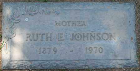JOHNSON, RUTH E. - Maricopa County, Arizona | RUTH E. JOHNSON - Arizona Gravestone Photos