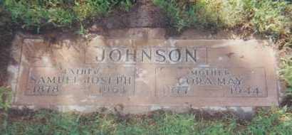 JOHNSON, CORA MAY - Maricopa County, Arizona | CORA MAY JOHNSON - Arizona Gravestone Photos