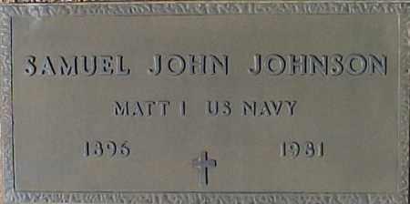 JOHNSON, SAMUEL JOHN - Maricopa County, Arizona   SAMUEL JOHN JOHNSON - Arizona Gravestone Photos