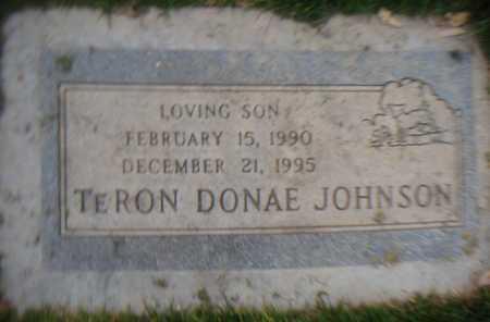 JOHNSON, TERON DONAE - Maricopa County, Arizona | TERON DONAE JOHNSON - Arizona Gravestone Photos