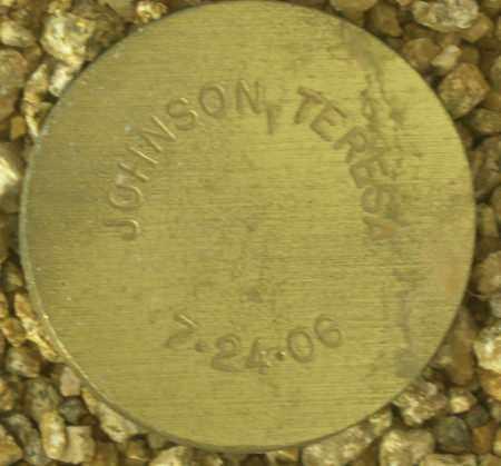 JOHNSON, TERESA - Maricopa County, Arizona   TERESA JOHNSON - Arizona Gravestone Photos