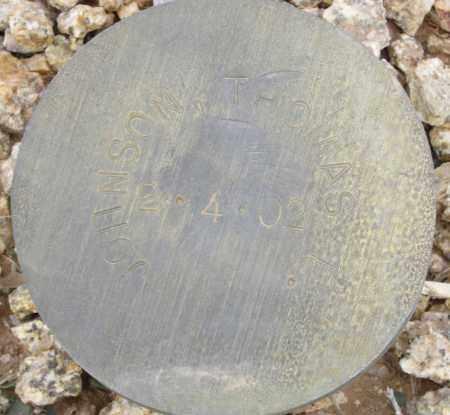 JOHNSON, THOMAS E. - Maricopa County, Arizona | THOMAS E. JOHNSON - Arizona Gravestone Photos