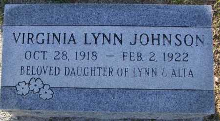 JOHNSON, VIRGINIA LYNN - Maricopa County, Arizona | VIRGINIA LYNN JOHNSON - Arizona Gravestone Photos