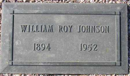 JOHNSON, WILLIAM ROY - Maricopa County, Arizona | WILLIAM ROY JOHNSON - Arizona Gravestone Photos