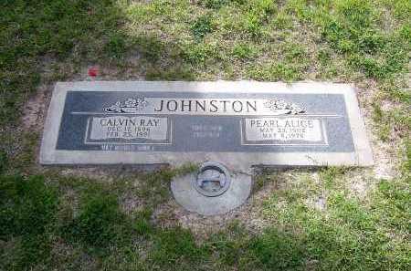 JOHNSTON, CALVIN RAY - Maricopa County, Arizona | CALVIN RAY JOHNSTON - Arizona Gravestone Photos