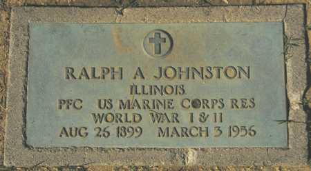 JOHNSTON, RALPH A. - Maricopa County, Arizona | RALPH A. JOHNSTON - Arizona Gravestone Photos