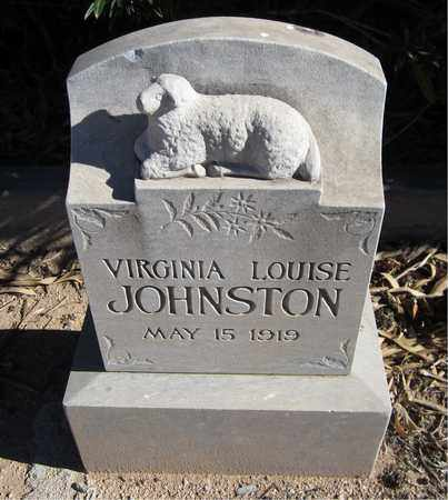 JOHNSTON, VIRGINIA LOUISE - Maricopa County, Arizona | VIRGINIA LOUISE JOHNSTON - Arizona Gravestone Photos