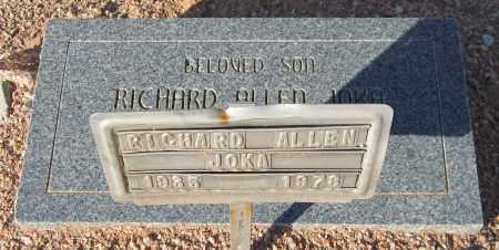 JOKA, RICHARD ALLEN - Maricopa County, Arizona | RICHARD ALLEN JOKA - Arizona Gravestone Photos