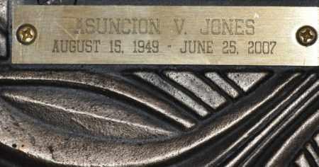 JONES, ASUNCION V. - Maricopa County, Arizona | ASUNCION V. JONES - Arizona Gravestone Photos