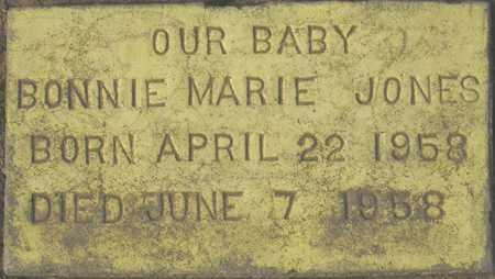 JONES, BONNIE MARIE - Maricopa County, Arizona | BONNIE MARIE JONES - Arizona Gravestone Photos