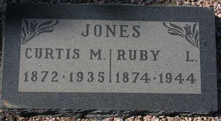 JONES, CURTIS M. - Maricopa County, Arizona | CURTIS M. JONES - Arizona Gravestone Photos