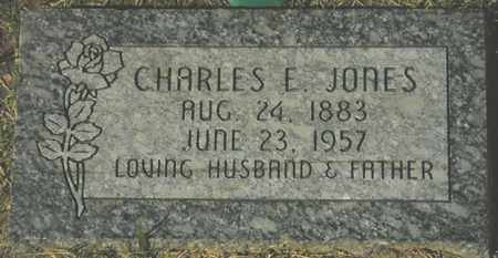 JONES, CHARLES E. - Maricopa County, Arizona | CHARLES E. JONES - Arizona Gravestone Photos