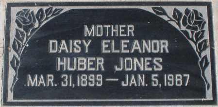 HUBER JONES, DAISY ELEANOR - Maricopa County, Arizona | DAISY ELEANOR HUBER JONES - Arizona Gravestone Photos
