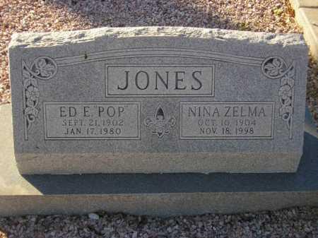 JONES, NINA ZELMA - Maricopa County, Arizona   NINA ZELMA JONES - Arizona Gravestone Photos