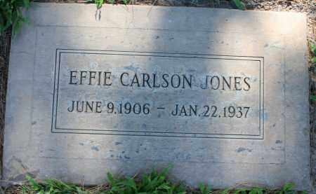 CARLSON JONES, EFFIE CECILIA - Maricopa County, Arizona | EFFIE CECILIA CARLSON JONES - Arizona Gravestone Photos