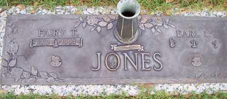 JONES, EARL L. - Maricopa County, Arizona | EARL L. JONES - Arizona Gravestone Photos