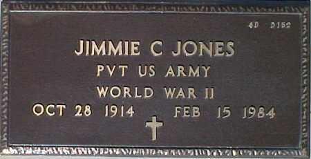 JONES, JIMMIE C. - Maricopa County, Arizona | JIMMIE C. JONES - Arizona Gravestone Photos