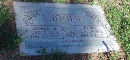JONES, JAMES M. - Maricopa County, Arizona | JAMES M. JONES - Arizona Gravestone Photos