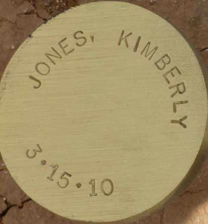 JONES, KIMBERLY - Maricopa County, Arizona | KIMBERLY JONES - Arizona Gravestone Photos