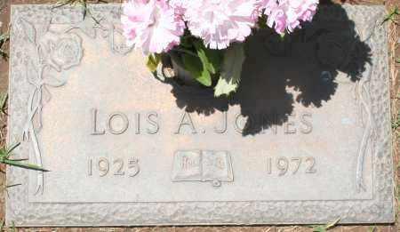 JONES, LOIS A. - Maricopa County, Arizona | LOIS A. JONES - Arizona Gravestone Photos