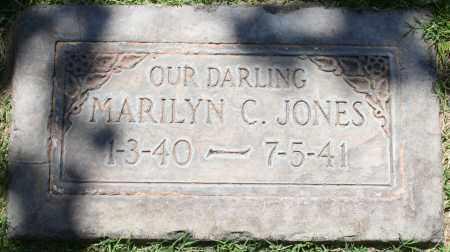 JONES, MARILYN C - Maricopa County, Arizona   MARILYN C JONES - Arizona Gravestone Photos