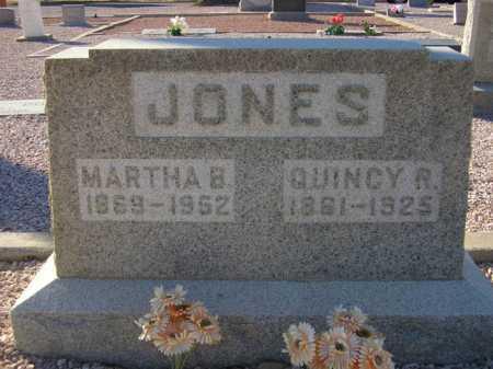 JONES, MARTHA B. - Maricopa County, Arizona   MARTHA B. JONES - Arizona Gravestone Photos