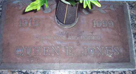 JONES, QUEEN E. - Maricopa County, Arizona | QUEEN E. JONES - Arizona Gravestone Photos
