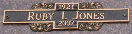 JONES, RUBY I - Maricopa County, Arizona   RUBY I JONES - Arizona Gravestone Photos
