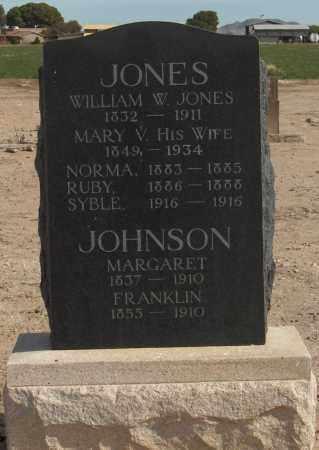JONES, NORMA - Maricopa County, Arizona | NORMA JONES - Arizona Gravestone Photos