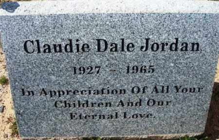 JORDAN, CLAUDIE DALE - Maricopa County, Arizona | CLAUDIE DALE JORDAN - Arizona Gravestone Photos