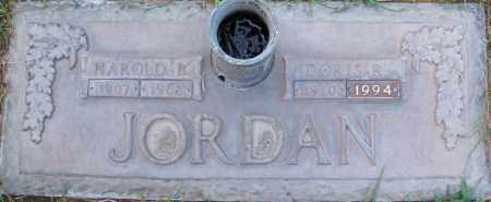 JORDAN, HAROLD B. - Maricopa County, Arizona | HAROLD B. JORDAN - Arizona Gravestone Photos