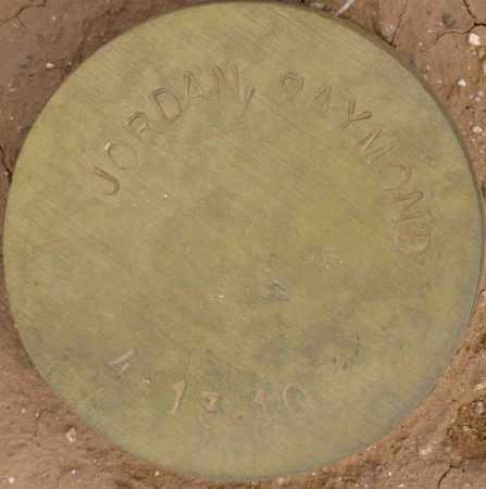 JORDAN, RAYMOND - Maricopa County, Arizona | RAYMOND JORDAN - Arizona Gravestone Photos