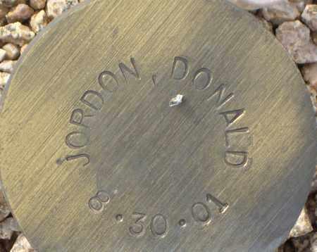 JORDON, DONALD - Maricopa County, Arizona | DONALD JORDON - Arizona Gravestone Photos