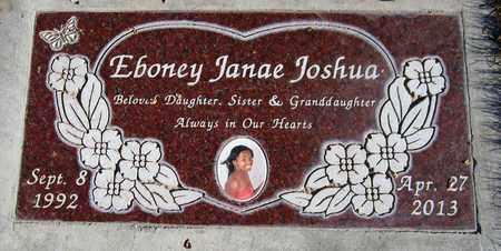 JOSHUA, EBONEY JANAE - Maricopa County, Arizona | EBONEY JANAE JOSHUA - Arizona Gravestone Photos