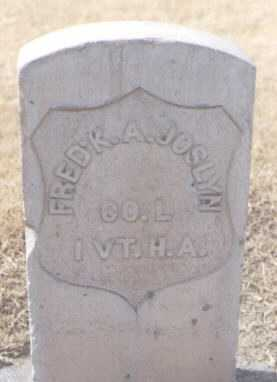 JOSLYN, FRED'K A. - Maricopa County, Arizona | FRED'K A. JOSLYN - Arizona Gravestone Photos