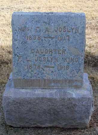 JOSLYN, MARY ANN - Maricopa County, Arizona | MARY ANN JOSLYN - Arizona Gravestone Photos