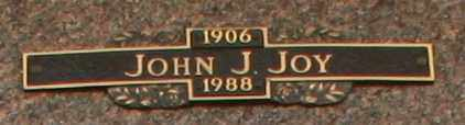 JOY, JOHN J - Maricopa County, Arizona   JOHN J JOY - Arizona Gravestone Photos