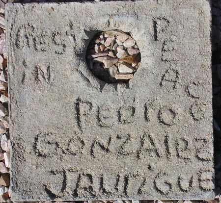 JUAREGUE, PEDRO GONZALEZ - Maricopa County, Arizona | PEDRO GONZALEZ JUAREGUE - Arizona Gravestone Photos