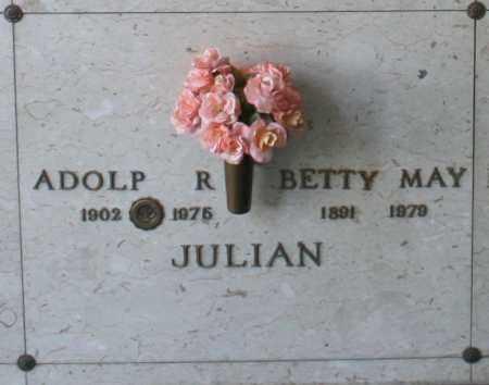 JULIAN, BETTY MAY - Maricopa County, Arizona | BETTY MAY JULIAN - Arizona Gravestone Photos