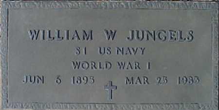 JUNGELS, WILLIAM W - Maricopa County, Arizona | WILLIAM W JUNGELS - Arizona Gravestone Photos