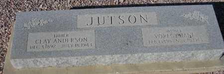 JUTSON, CLAY ANDERSON - Maricopa County, Arizona | CLAY ANDERSON JUTSON - Arizona Gravestone Photos