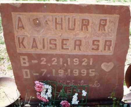 KAISER, ARTHUR R, SR - Maricopa County, Arizona | ARTHUR R, SR KAISER - Arizona Gravestone Photos