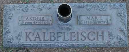 KALBFLEISCH, MARIE - Maricopa County, Arizona | MARIE KALBFLEISCH - Arizona Gravestone Photos