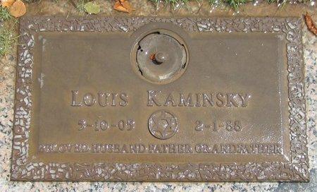 KAMINSKY, LOUIS - Maricopa County, Arizona | LOUIS KAMINSKY - Arizona Gravestone Photos