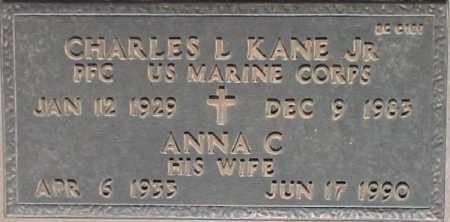 KANE, ANNA C. - Maricopa County, Arizona | ANNA C. KANE - Arizona Gravestone Photos