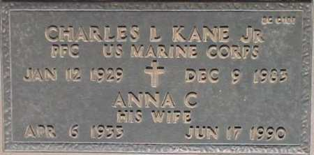KANE, ANNA C. - Maricopa County, Arizona | ANNA C. KANE - Arizona Gravestone Photos