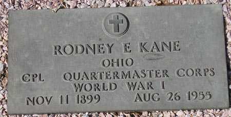 KANE, RODNEY E. - Maricopa County, Arizona | RODNEY E. KANE - Arizona Gravestone Photos