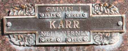 KARR, CALVIN J - Maricopa County, Arizona | CALVIN J KARR - Arizona Gravestone Photos
