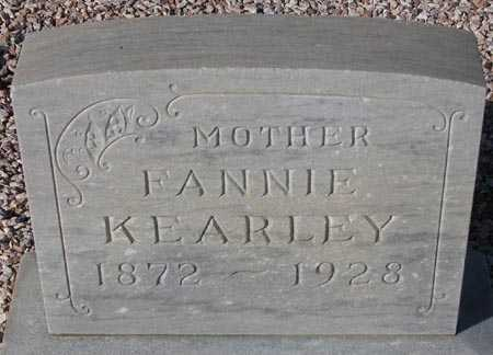 KEARLEY, FANNIE - Maricopa County, Arizona | FANNIE KEARLEY - Arizona Gravestone Photos